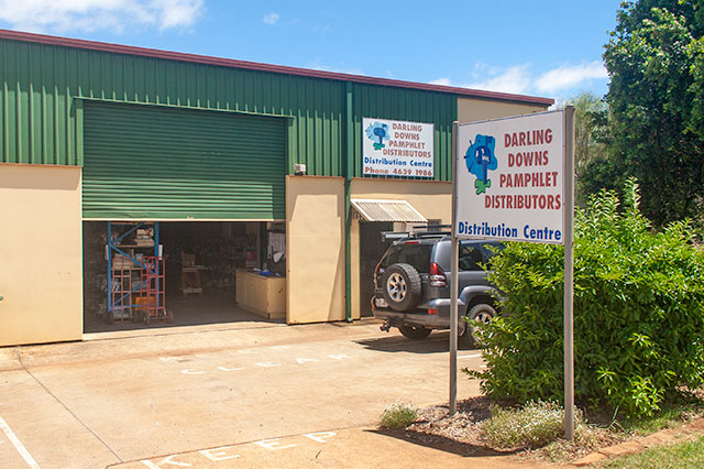 Darling Downs Pamphlet Distributors' North Street distribution centre
